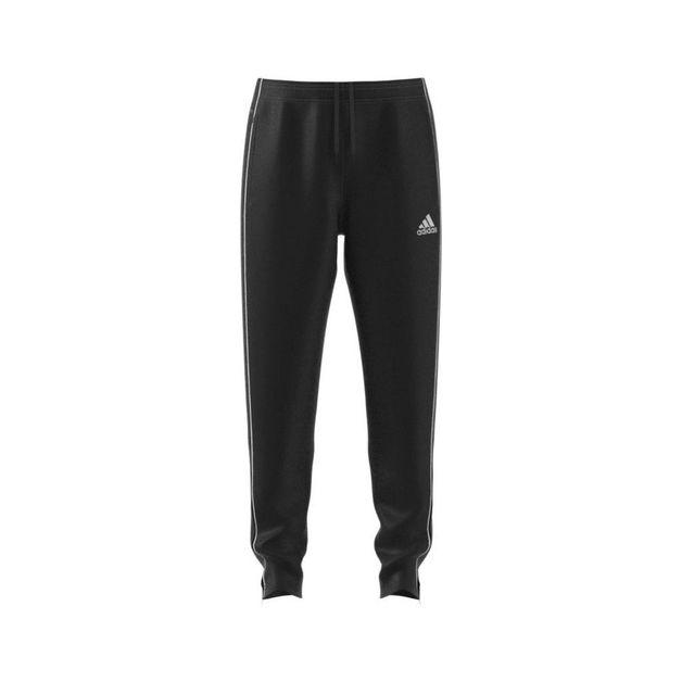 Adidas: Core 19 Trackpant - Black/White (2XL)