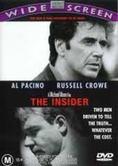 The Insider on DVD