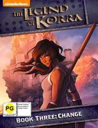 Legend Of Korra: Book Three: Change on DVD