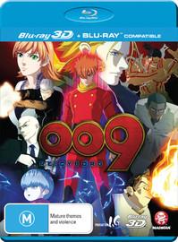 009 Re:cyborg on Blu-ray, 3D Blu-ray