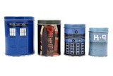 Doctor Who Cannister Set