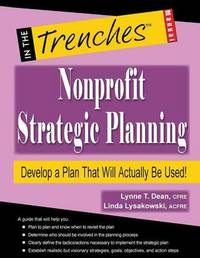 Nonprofit Strategic Planning by Lynne T Dean