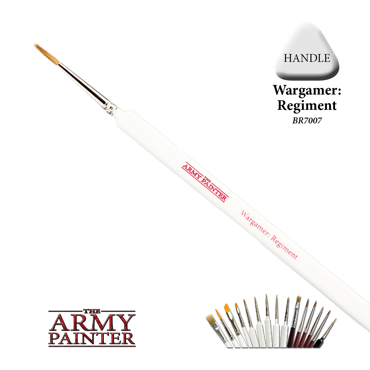 Army Painter Regiment Brush image