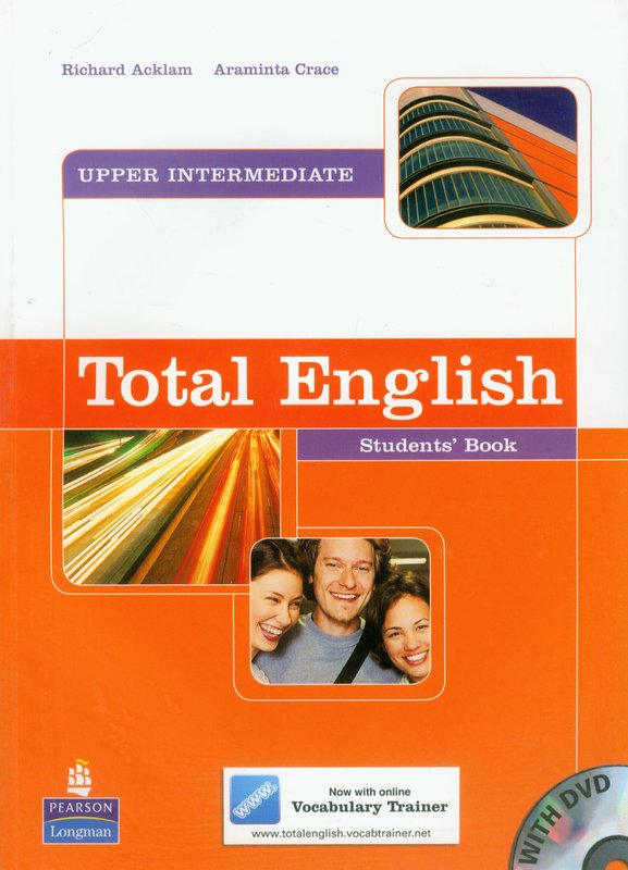 Total English Upper Intermediate: Students' Book and DVD Pack by Araminta Crace