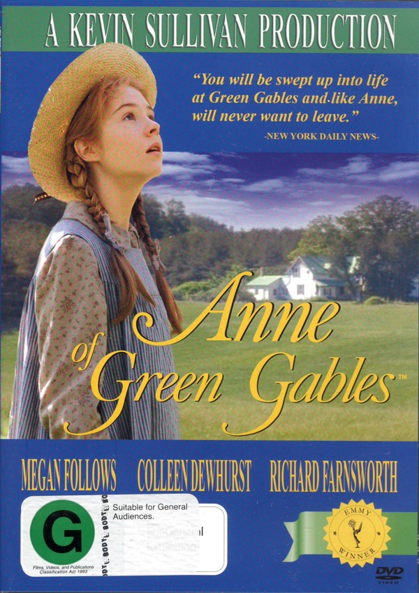 Anne Of Green Gables on DVD image