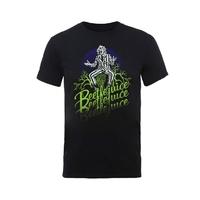 Beetlejuice: Beetlejuice Faded T-Shirt (Large)