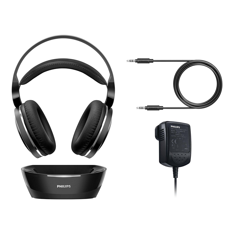 c01e276ea56 ... Philips: Wireless Over Ear Home Cinema Headphones - Black image ...