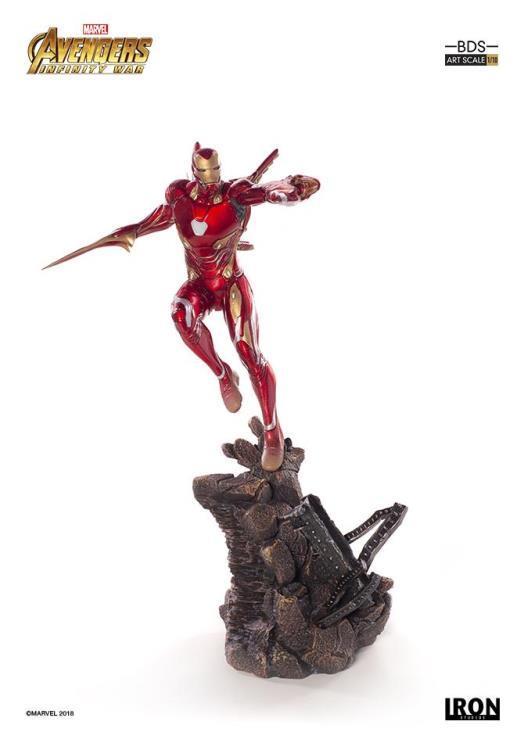 Avengers: Infinity War - 1/10 Iron Man - Battle Diorama Statue