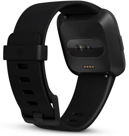 Fitbit Versa Smart Fitness Watch - Black image