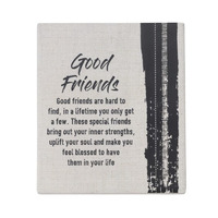 Splosh Markings Ceramic Verse - Good Friends