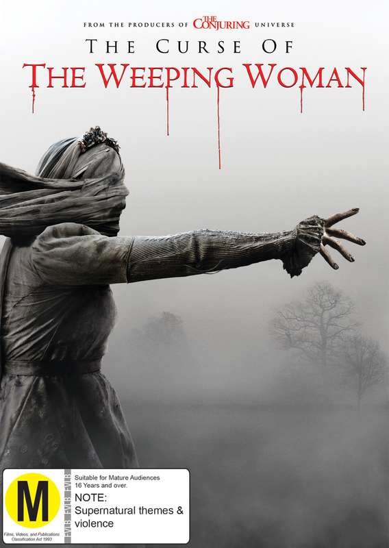 The Curse of the Weeping Woman on DVD