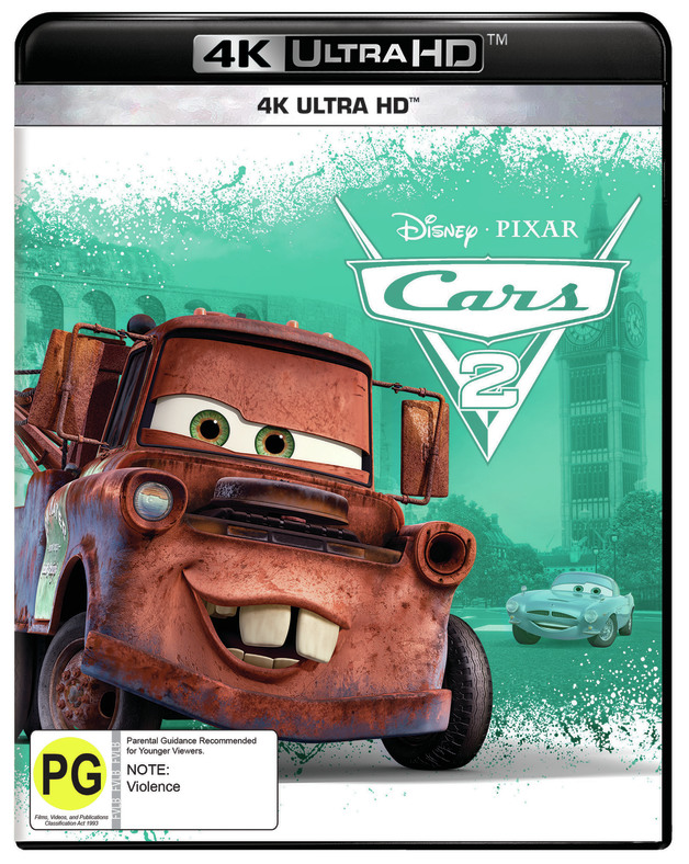 Cars 2 (4K UHD) on UHD Blu-ray