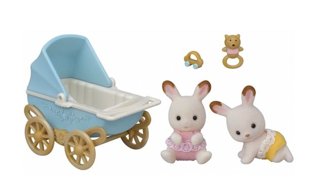Sylvanian Families: Chocolate Rabbit Twins Set (5432)