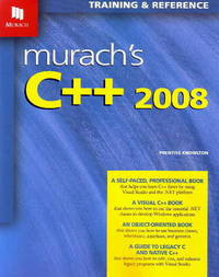 Murach's C++ 2008 by Prentiss Knowlton image