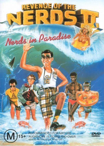 Revenge Of The Nerds 2 - Nerds In Paradise on DVD