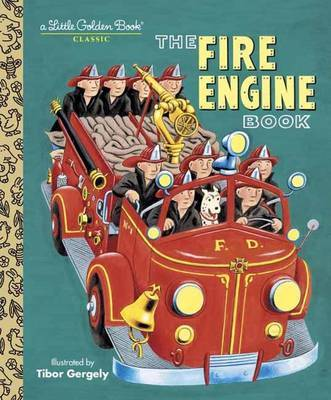 Lgb:Fire Engine Book by Tibor Gergely image