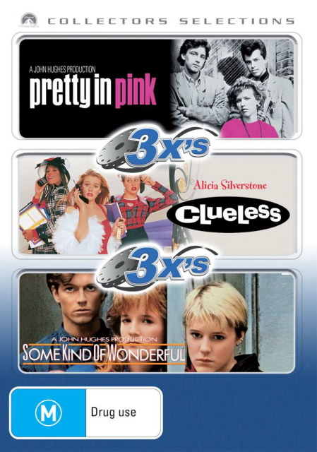 3x's - Pretty In Pink / Clueless / Some Kind Of Wonderful (Collectors Selections) (3 Disc Set) on DVD image