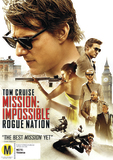 Mission Impossible 5 - Rogue Nation DVD