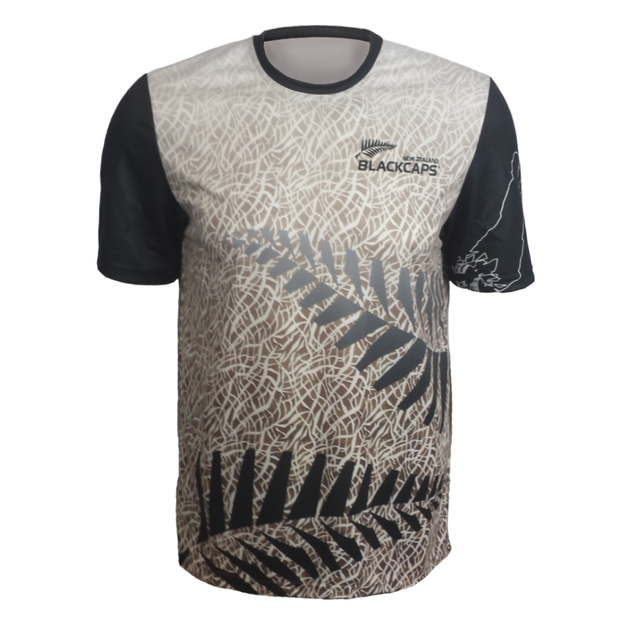 Blackcaps Sublimated T Shirt - M