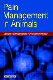 Pain Management in Animals by Paul A. Flecknell image