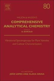 Vibrational Spectroscopy for Plant Varieties and Cultivars Characterization: Volume 80