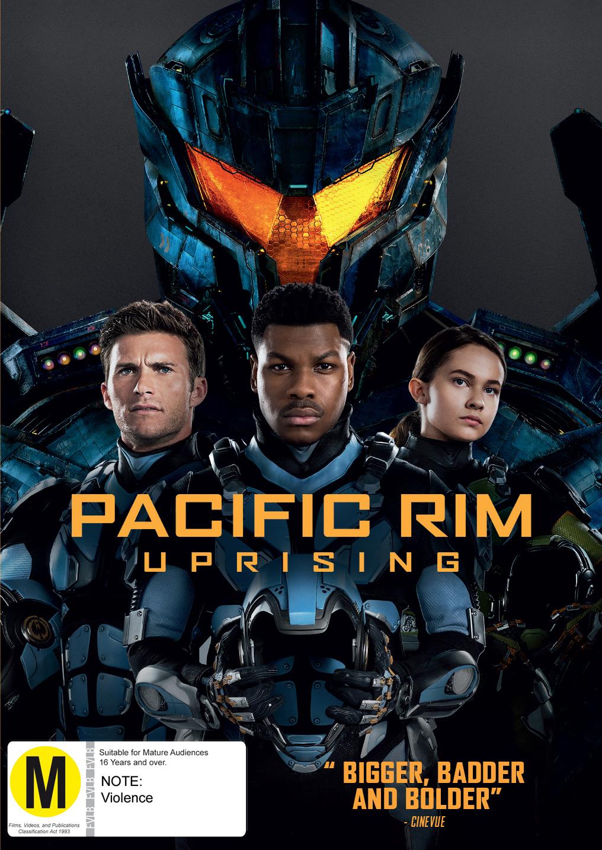 Pacific Rim 2: Uprising on DVD image