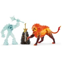 Schleich : Battle for the Superweapon – Frost Monster vs. Fire Lion