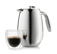 Bodum: Columbia Double Wall Coffee Maker (8 Cup)