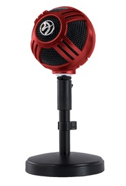 Arozzi Sfera Microphone (Red) for PC