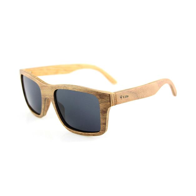 Vilo: Indiana Wooden Sunglasses
