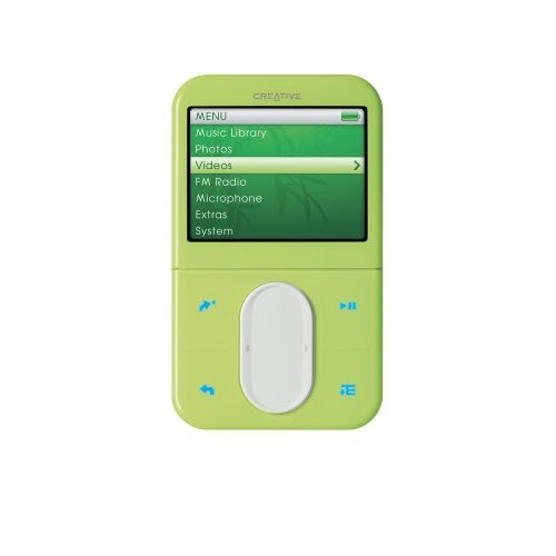 CREATIVE LABS Creative Zen Vision M 30GB Green MP3 Player  SE Version (Does not include Travel Adapter) image