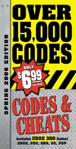 Codes & Cheats Spring 2006 - Prima Official Guide