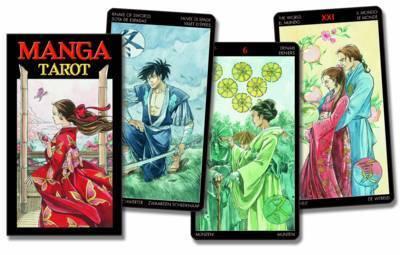 Manga Tarot by Anna Lazzerina