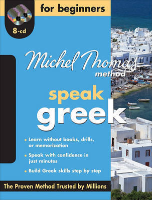 Michel Thomas Method Greek for Beginners with Eight Audio CDs by Garoufalia-Middle Hara