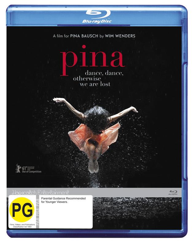 Pina on Blu-ray