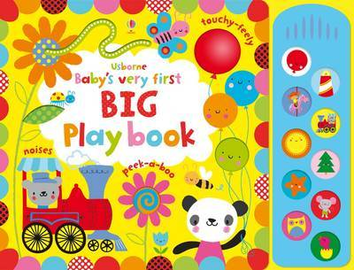 Baby's Very First Big Playbook by Fiona Watt