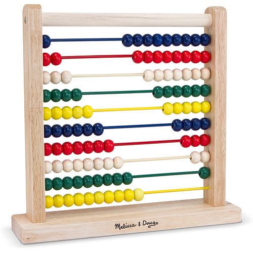Melissa & Doug: Classic Wooden Abacus image
