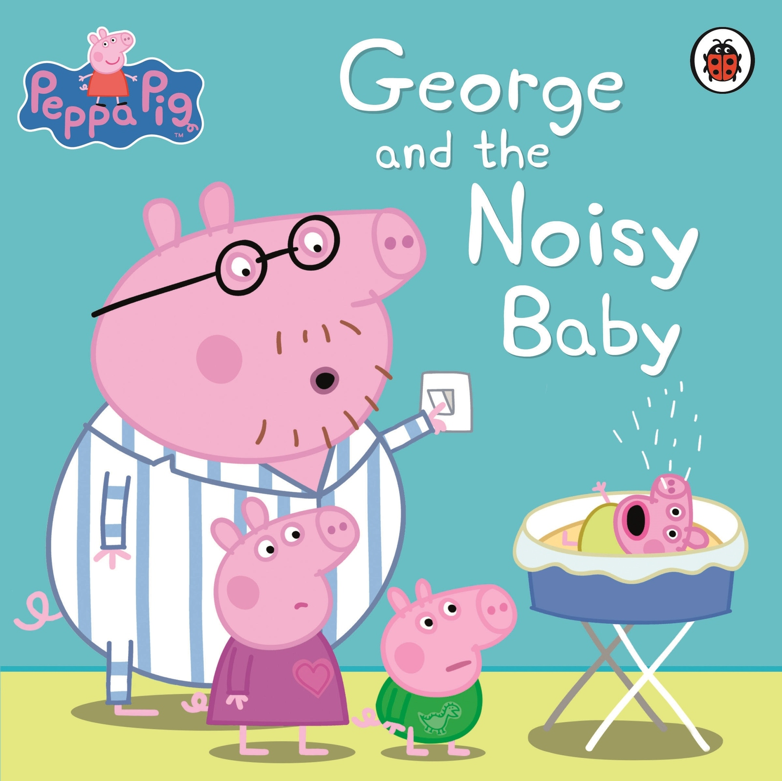 Peppa Pig: George and the Noisy Baby by Peppa Pig image