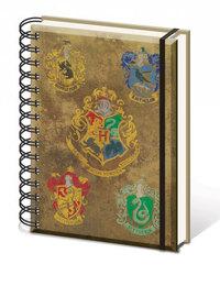 Harry Potter: Hogwarts Crest A5 Notebook