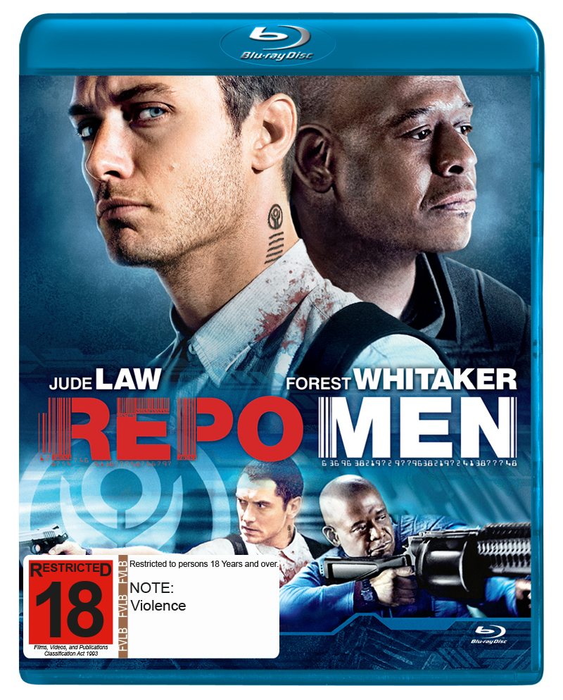 Repo Men on Blu-ray image