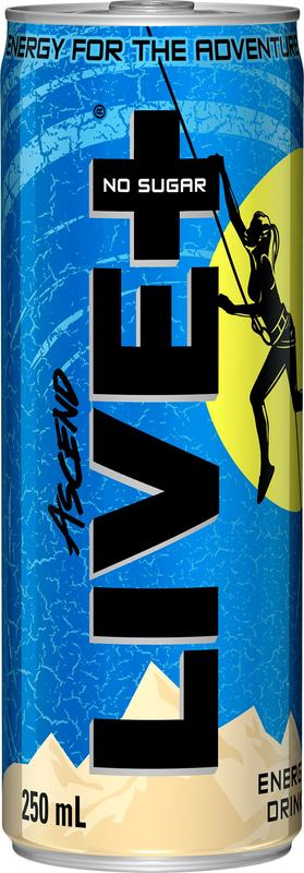 Live Plus Ascend Energy Drink (250ml) Pack of 30
