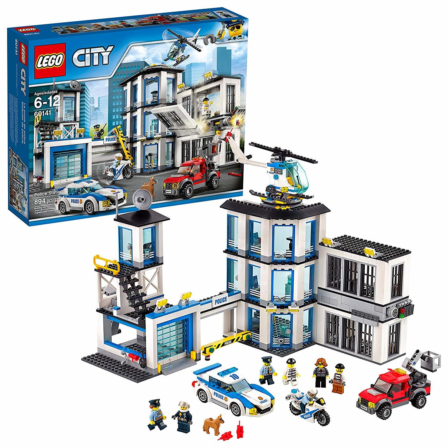 Lego City Police Station 60141 Toy At Mighty Ape Nz