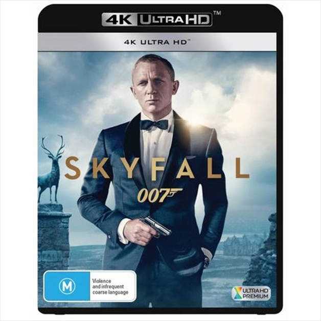 Skyfall (4K Ultra HD Blu-ray) on UHD Blu-ray
