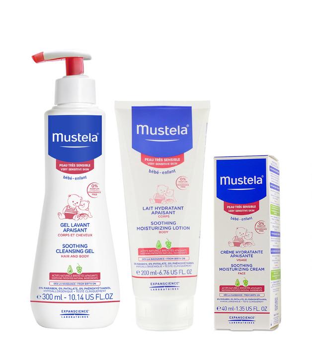 Mustela: Bundle - Very Sensitive Skin