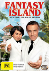 Fantasy Island (1978) - Complete Season 1 (4 Disc Set) on DVD