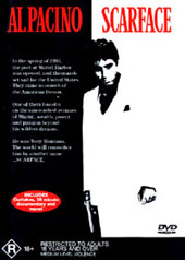Scarface on DVD