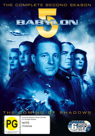 Babylon 5 - Season 2 (6 Disc Set) on DVD image