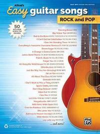 Alfred's Easy Guitar Songs -- Rock & Pop