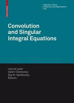 Convolution Equations and Singular Integral Operators image