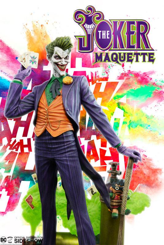 DC Comics: Joker - Super Powers Maquette Statue